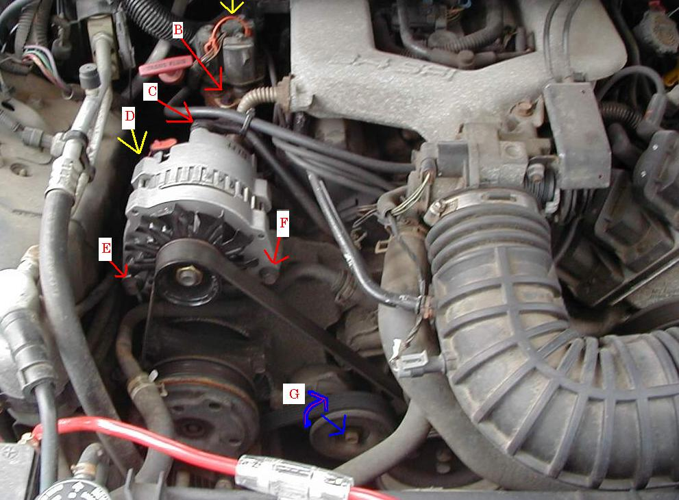 how to change the spark plugs in your 1993 1995 3 4l v6 firebird or95 Camaro 3 4l Wiring Diagram #18